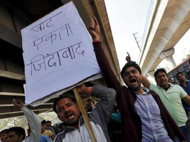 Jat organisations were getting edgy over the delay in the notification of the quota law with All India Jat Aarakshan Sangharsh Samiti deciding to hold a dharna on May 10. The agitation for the quota in February had led to the government making the law.