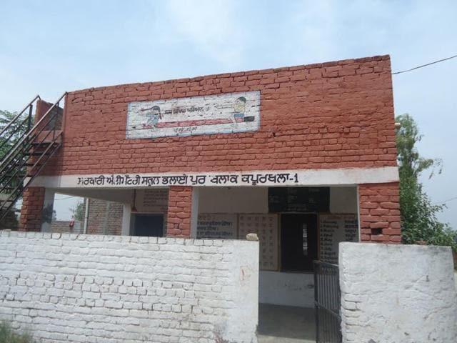 One-teacher-one student,Kapurthala school,Punjab