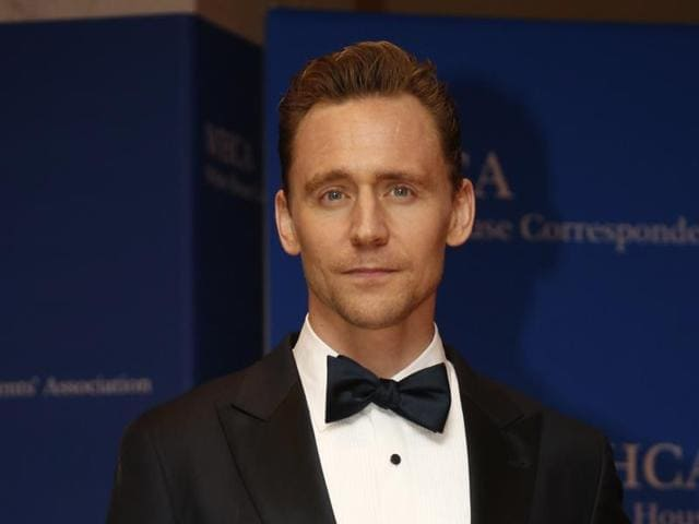 Actor Tom Hiddleston attends the premiere for