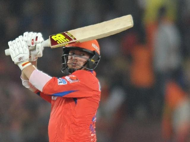 Against Sunrisers Hyderabad, Finch came in at No 5 when the Lions were struggling at 25 for three in the sixth over. The usually aggressive Aussie had to curb his instincts and worked on rebuilding the innings.