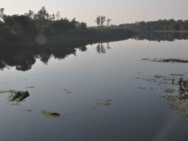 In 2013, NGO Vanashakti, citing violation of environment rules, filed a petition at the NGT seeking a direction to MPCB to shut all the industries discharging untreated effluents into Ulhas river.(HT Photo)