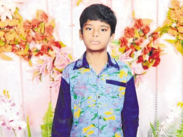 Sudesh, 11, was electrocuted when he came in contact with a live wire at a public park in Jawahar Nagar area.