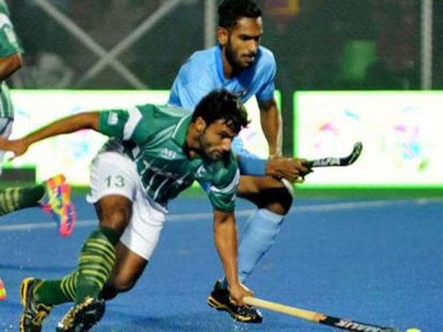 The three matches between the veteran teams of Pakistan and India in England were due to be played on May 13, 14 and 15 with the Berkshire hockey club hosting the matches.