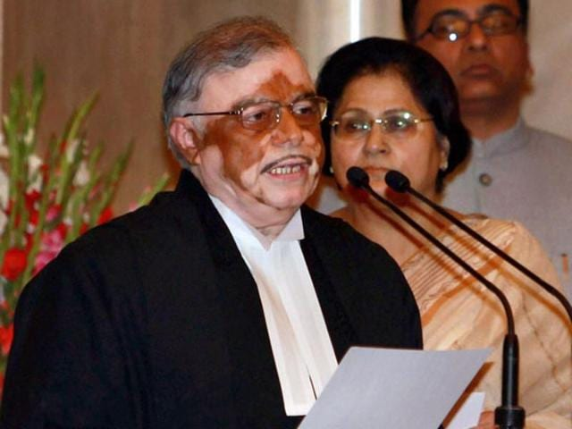 File photo of P Sathasivam. The Kerala governor P Sathasivam and his wife will vote in the Kerala state assembly polls on May 16.