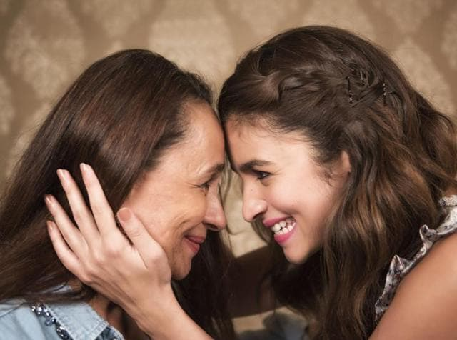 """"""" I wish Alia had enjoyed for a few more years, and would have had a chilled out college experience. She was slogging like a donkey at 17,"""" says Soni Razdan.(Aalok Soni/ Hindustan Times)"""