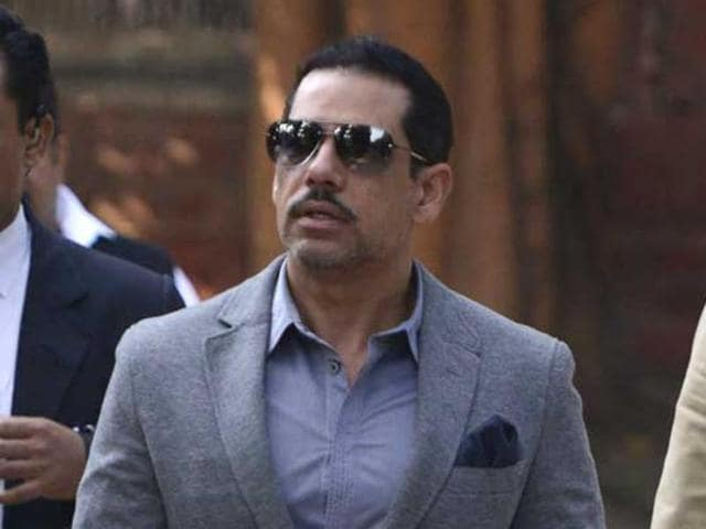 ED teams examined documents allegedly related to Robert Vadra's company, which purchased lands, and also quizzed people, ED spokesperson AK Rawal said.