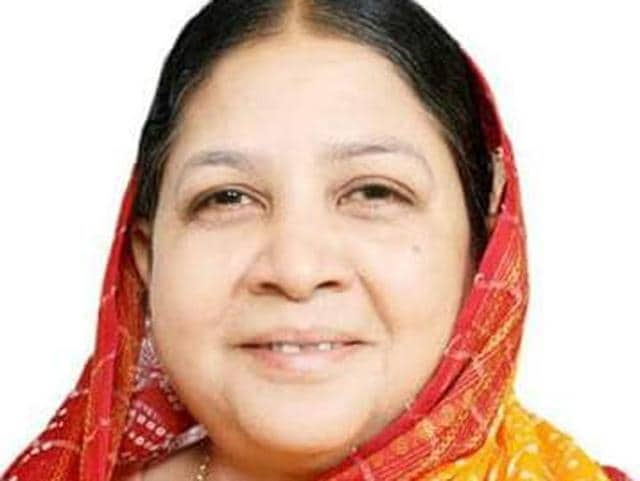 Former Congress MP Rajesh Nandini Singh died on Sunday.