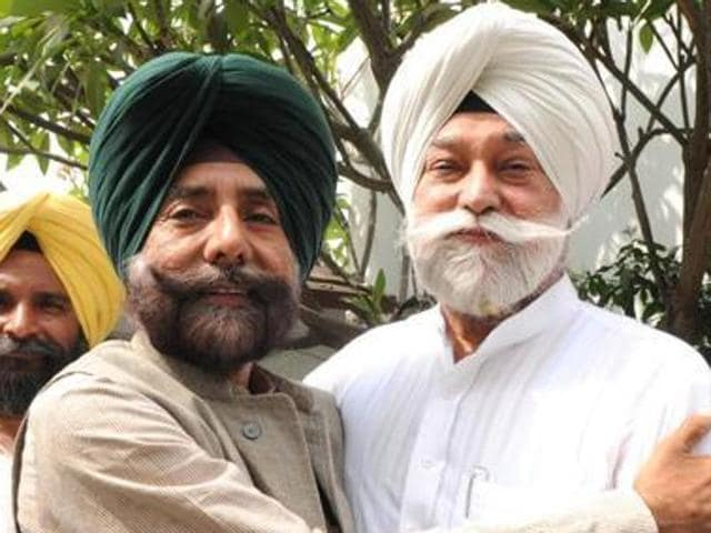 Expelled Congress leaders Jagmeet Singh Brar and Bir Devinder Singh.
