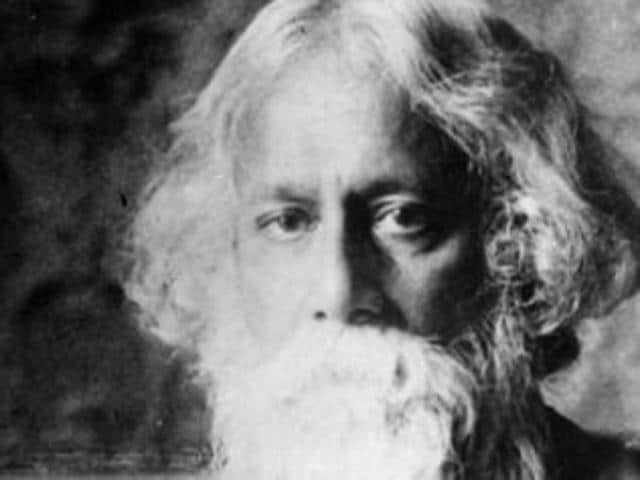Tagore with Albert Einstein