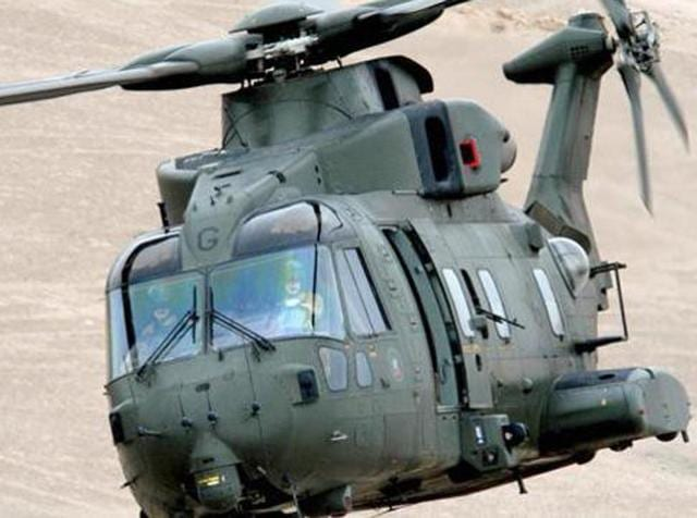 A file photo of AgustaWestland AW101 chopper, configured to meet diverse roles for pre-dominantly Maritime and Utility tasks. (agustawestland.com)