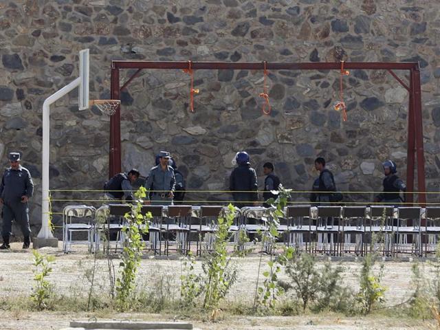Afghanistan,Militants hanged,Afghanistan death penalty
