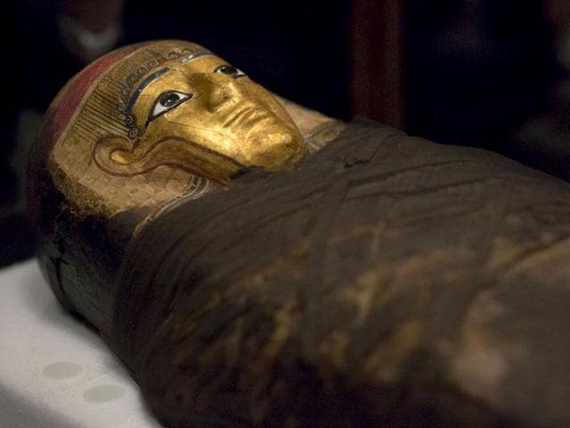 Archaeologists clashed at a conference in Egypt on Sunday over a theory that secret burial chambers could be hidden behind the walls of King Tutankhamun's tomb.