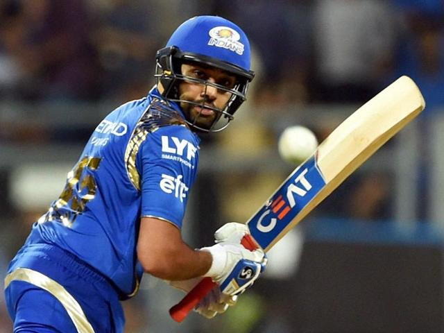 Mumbai Indians batsman Rohit Sharma has hit five half-centuries so far in this IPL season.