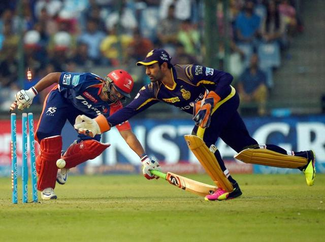 Having a part-timer hasn't hurt KKR so far but there has been the odd mishap where Robin Uthappa has let through a few byes or not moved across the stumps to the spinners.