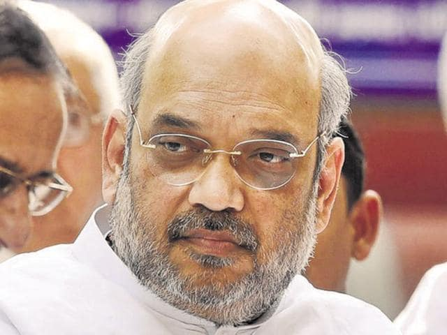"""BJP party chief Amit Shah will take a """"dip of harmony"""" with Dalits and tribals in the river at the ongoing Simhastha Kumbh festival in Ujjain."""