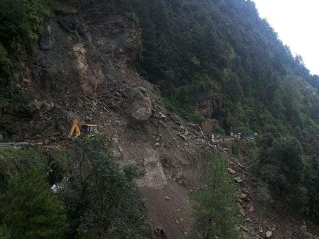 (Representative image) At least 41 people were missing and seven others injured when a landslide buried a construction site of a hydropower station in China's southern Fujian province.