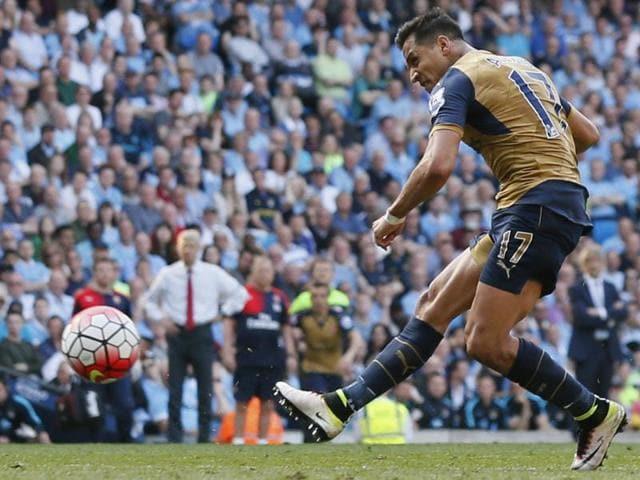 Premier League,Arsenal vs Manchester City,Alexis Sanchez