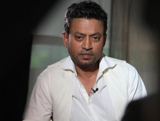 Irrfan Khan's next Bollywood release is based on a father-son relationship.