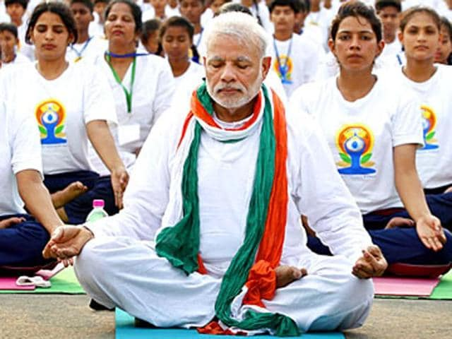 Last year, Prime Minister Narendra Modi led nearly 37,000 people in performing yoga exercises at Rajpath on the International Day of Yoga.