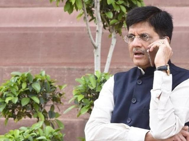 """Union Power Minister Piyush Goyal on Sunday blamed the """"corrupt"""" DMK and AIADMK and their party-led governments for losses in the power sector in Tamil Nadu."""