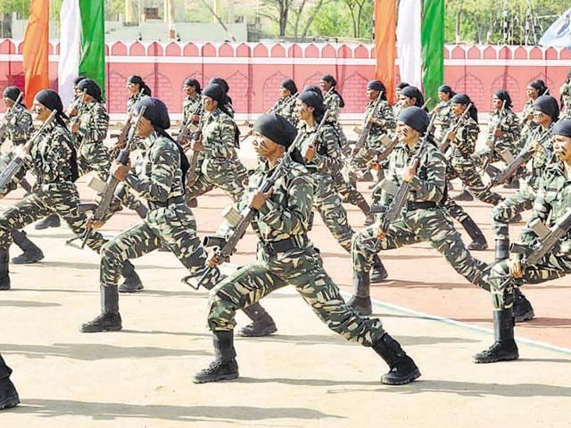 The CRPF has been working on the concept that if Maoists can have women in their ranks, why not the security forces.