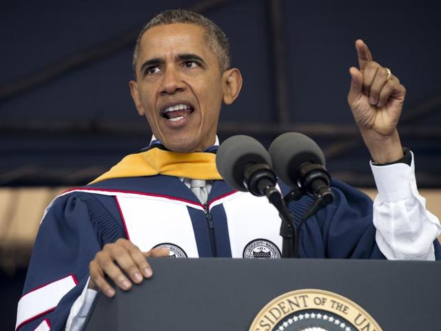 US in 'better place' than when he graduated college, says Obama