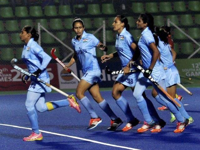 Indian women's hockey team,Great Britain,5-0 clean sweep