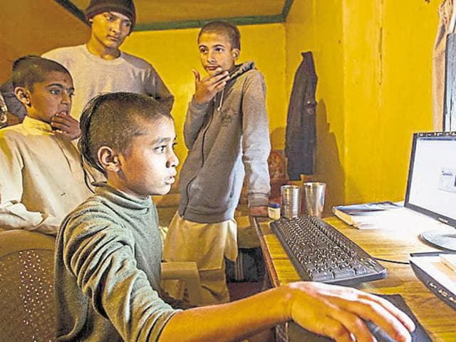 The internet penetration in Jharkhand is 1.5% and the total population is 3.29 crore, which translates to around 5 lakh internet users.