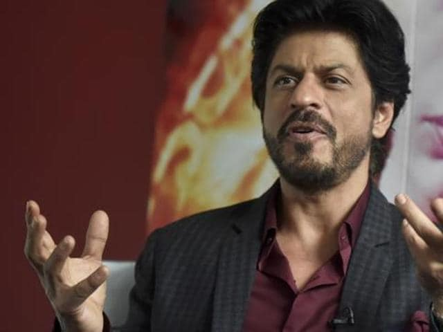 Shah Rukh Khan speaks at Madame Tussauds in London on April 13, 2016.  (REUTERS)
