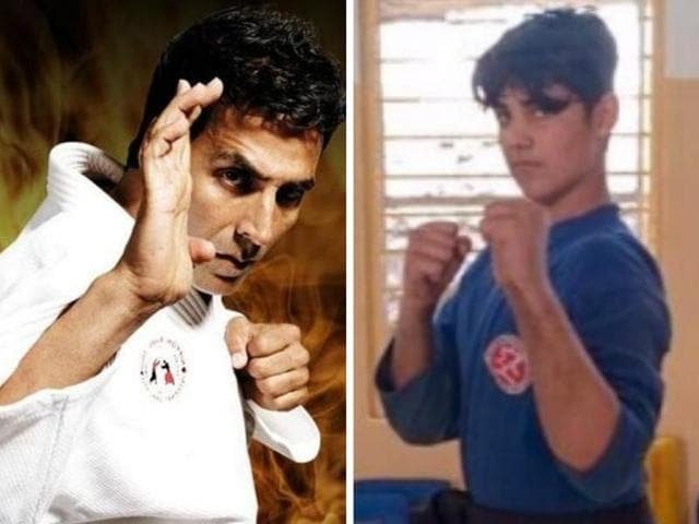 Like father, like son: Akshay Kumar's son Aarav is now a black belt in Kudo.