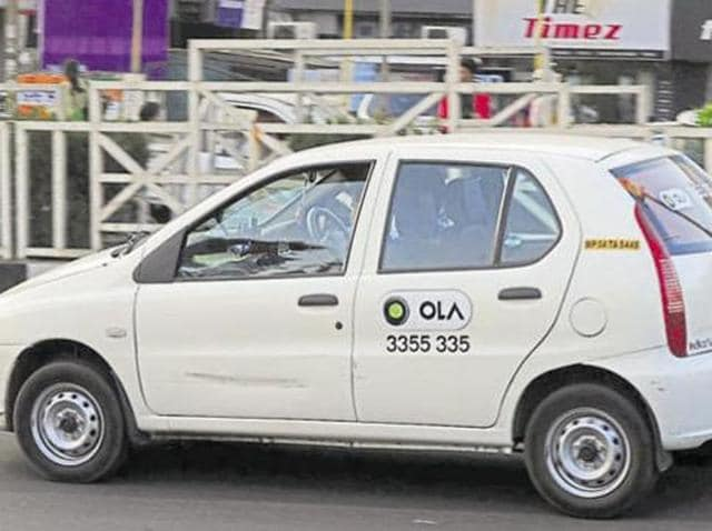 The government's transport department said these web-based cab aggregators were plying  illegally.
