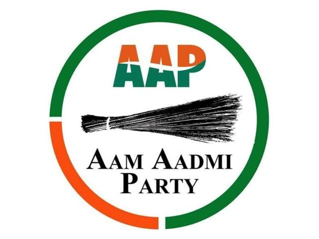 """""""On coming to power, the AAP will not allow banks or the government to acquire, confiscate or auction agricultural land,"""" said senior journalist Kanwar Sandhu, who heads the party manifesto committee."""