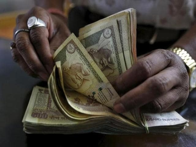 Forex dealers said besides sustained selling of the greenback by banks and exporters, a higher opening of the domestic equity market backed up the rupee at the Interbank Foreign Exchange.