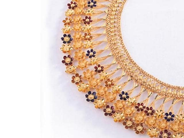 The jewellers had come out with a variety of schemes to boost sales on Monday and had also offered up to 50% discount on jewellery making charges of gold and diamond ornaments.