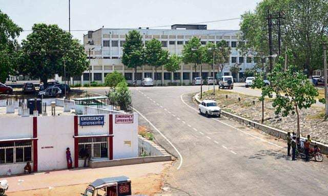 PCMH (in picture) and MGMCH are in danger of losing 100 MBBS seats for the 2016-17 session