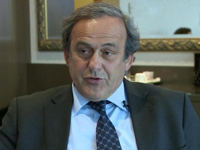 Platini said in a statement that following the Court of Arbitration for Sport's ruling he had no choice but to resign from Uefa.