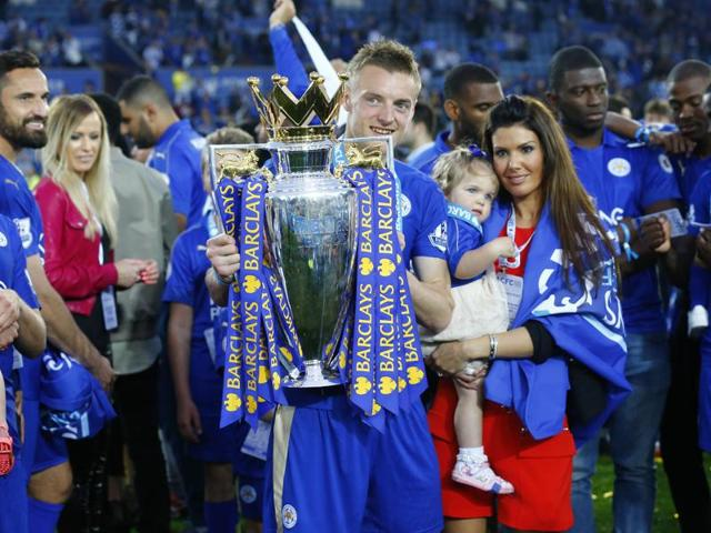 Jamie Vardy was playing in England's seventh tier and working part-time at a factory six years ago, but is now an England international whose 24 goals fired Leicester to glory in the Premier League.