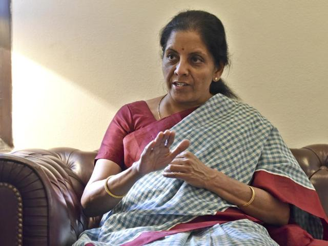 Nirmala Sitharaman said India runs a deficit with countries from which high-demand commodities are sourced.