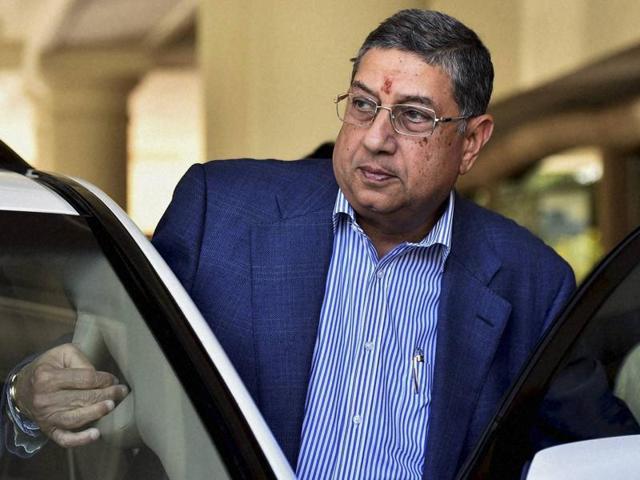 Shashank Manohar,N Srinivasan,2013 IPL spot-fixing case