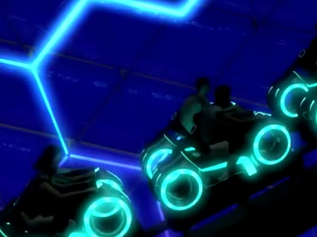 The first video footage and images have hit the web for one of the most-anticipated thrill rides at Shanghai Disneyland: The TRON Lightcycle Power Run.