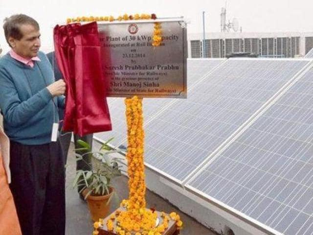 Solar PV on rooftop of Katra Railway Station of Northern Railway