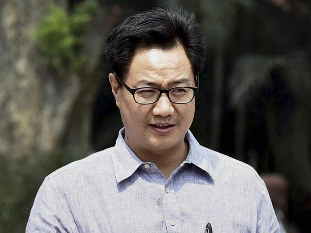 MoS for home Kiren Rijiju told the Rajya Sabha on Tuesday that the government is in favour of the promotion and expansion of Hindi and all other regional languages.