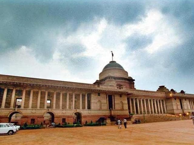 The male caller claimed he had placed a bomb inside Rashtrapati Bhavan.