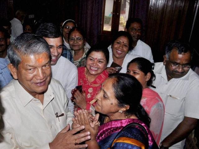 A Congress victory in the assembly will pave the way for the reinstatement of Rawat's government which was turned into a minority in March.