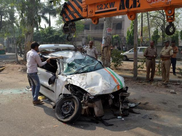 All 13 accident black spots are located on National Highways - NH-24, NH-91 and NH-58 - that pass through Ghaziabad city.