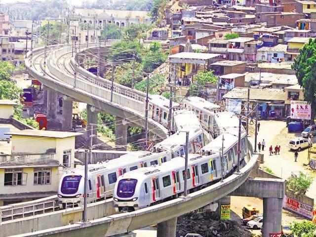 Mumbai Metro,MMRDA