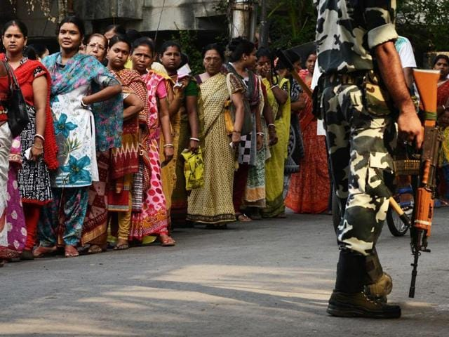The paramilitary forces are now deployed to ensure free and fair elections, fight terrorists and Maoists, protect VIPs and assist civil administration in the event of a natural calamity.(AFP)