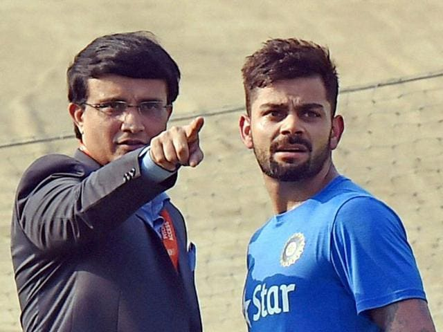 Sourav Ganguly backed Virat Kohli to captain India soon, adding that he would be surprised to see MS Dhoni lead the team in the 2019 World Cup.