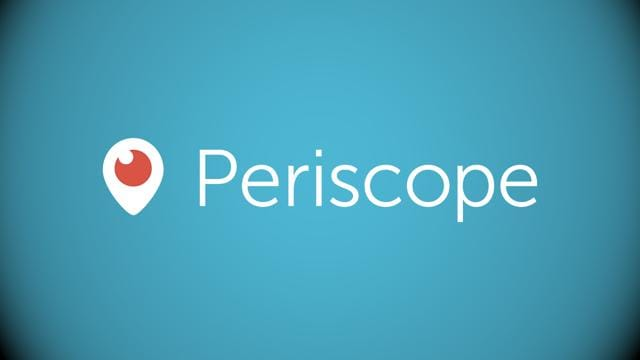 Periscope is a smartphone application that allows users to stream live video via their Twitter account.