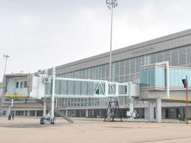 Int'l flights,International flights,Chandigarh airport